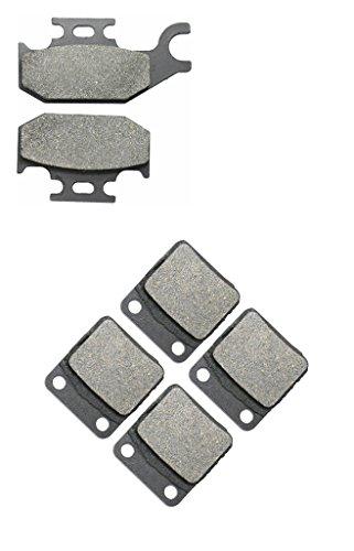 CNBK Semi-met Brake Pad Set fit for YAMAHA ATV Bike YFM450 YFM 450 cc 450cc FXV FXW FXX FXY FXZ Wolverine 06 07 08 09 10 2006 2007 2008 2009 2010 6 Pads