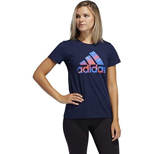adidas - Camiseta básica de deporte (Conavy, pequeña)