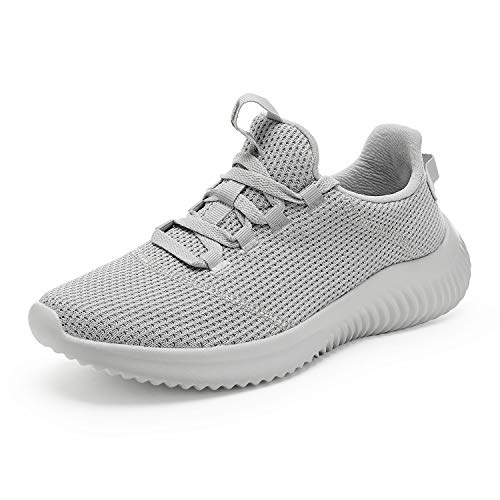 DREAM PAIRS Men's Lightweight Mesh Walking Shoes Casual Sneakers Grey Size 10.5 M US DHF19002M