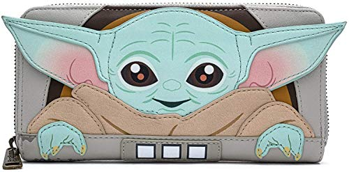 Loungefly Star Wars Baby Yoda The Mandalorian Wallet (one size)