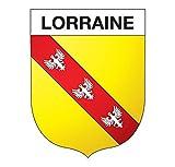 Supstick Autocollant Stickers Blason de région département Lorraine Format 10x8cm