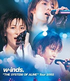 """w-inds.""""THE SYSTEM OF ALIVE""""Tour 2003(Blu-ray)"""