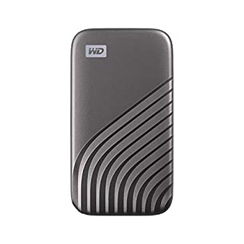 WD 4TB My Passport SSD External Portable Solid State Drive Grey Up to 1,050 MB/s USB 3.2 Gen-2 and USB-C Compatible  USB-A for older systems  – WDBAGF0040BGY-WESN