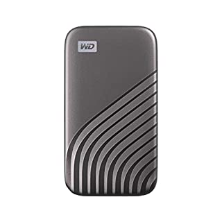 WD 1TB My Passport Portable SSD with NVMe Technology, USB-C, Read Speeds of up to 1050MB/s & Write Speeds of up to 1000MB/s. Works with PC, Xbox, PlayStation - Space Grey (B08F27QGHX) | Amazon price tracker / tracking, Amazon price history charts, Amazon price watches, Amazon price drop alerts
