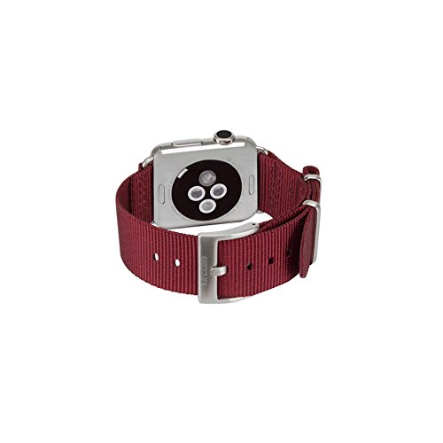 Incase Nylon Nato Band voor Apple Watch 42mm - Diep Rood
