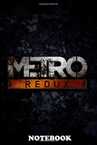 Notebook: Metro Redux , Journal for Writing, College Ruled Size 6