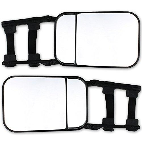 Wohnwagen- und Anhängerspiegel - 2 Stück - Wohnwagenspiegel - Anhängerspiegel