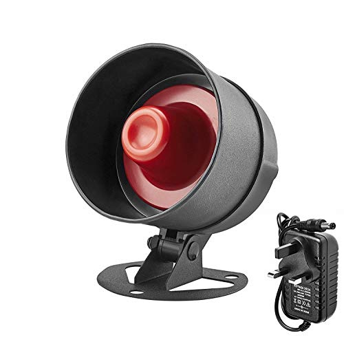 KERUI Wireless Standalone Loud Horn Siren Home Security Alarm,Indoor/Outdoor Waterproof up to 110dB