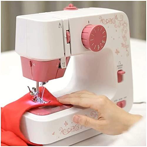 Beginner naaimachine, Mini Naaimachine, draagbare multifunctionele Electric Handheld Mini Naaimachine Basic makkelijk te gebruiken voor volwassenen en kinderen
