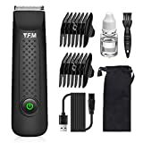 Y.F.M Electric Groin Hair Trimmer, Ball Groomer & Body Trimmer for Men, Waterproof Wet/Dry Clippers,...