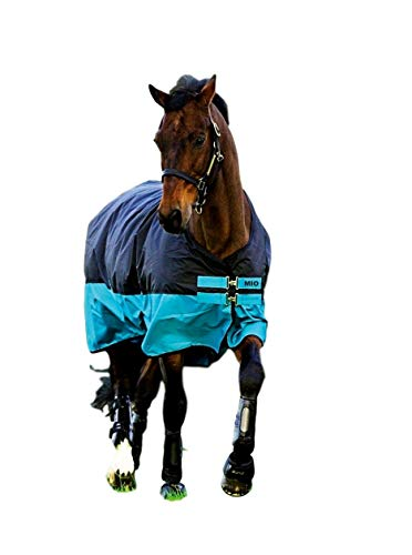 AMIGO Mio Turnout Sheet Lite Black/Turquoise/Black 81