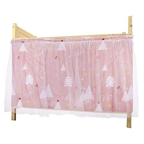YSXY Bettvorhang Vorhang Hochbett Schlafzelt Spielzelt Kinderbett Bett Etagenbett Studentenwohnheim Kinderzimmer (1.15 * 2Mx1(pink))