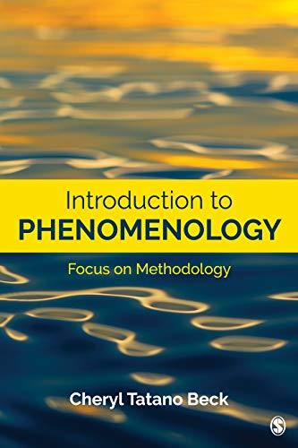 Introduction to Phenomenology: Focus on Methodology