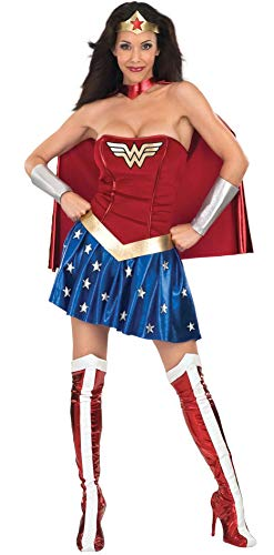 DC Comics - Disfraz de Wonder Woman para mujer, Talla S adulto (Rubie