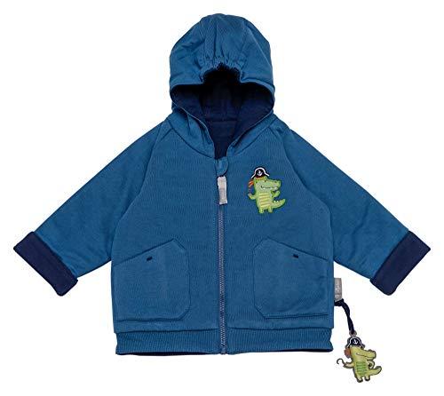 Sigikid Baby-Jungen Leggin, Mini Jacke, Blau (Sellar 559), Herstellergröße: 62