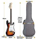 Immagine 1 cahaya borsa chitarra elettrica morbida