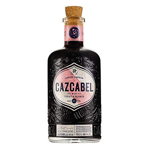 Cazcabel Coffee Liquer with Tequila Blanco Kaffee (3 x 0.7 l)