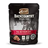 Merrick Backcountry Grain Free Real Meat Wet Cat Food Beef (24) 3oz pouches