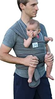 HAUL'A Baby Grey Baby Carrier   Ring Sling, Baby Wearing Wrap, Belly Binder & Maternity Belt  4-in-1