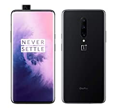 OnePlus 7 Pro, Operating System: OxygenOS based on Android 9 (Pie), CPU: Qualcomm Snapdragon 855 (Octa-core, 7nm processor), 8GB Memory + 256GB Storage, In-Display Fingerprint Sensor, Dual SIM – This factory unlocked phone is compatible worldwide. In...