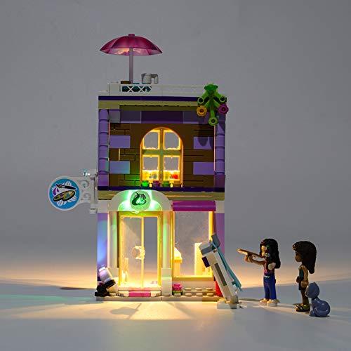 Bricks Light Kit for Friends Emma's Art Studio Building Blocks Model, LED Light kit Compatible with Lego 41365 (Not Include The Lego Model)