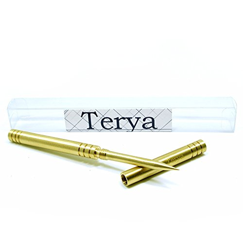 Terya All Copper Ice Pick with Cover Kitchen Tool Bar Tool