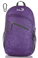 Water-resistant and DURABLE. The backpack is made from highly rip and water-resistant nylon fabric, which provides strength and long-lasting performance, with minimal weight. Stress points are reinforced with bar tacking for increased longevity. We u...
