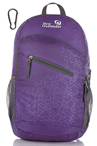 Outlander Packable Handy Lightweight Travel Hiking Backpack Daypack