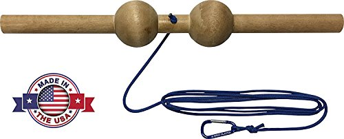Wrist Blaster - Forearm, Hand and Wrist Roll and Twist Exerciser Fat Grip (2.5 Inches, Sphere (Ball))