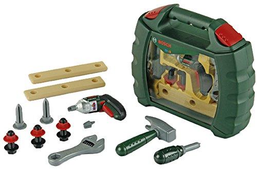 Theo Klein 8384 - Bosch Werkzeugkoffer Ixolino, Spielzeug