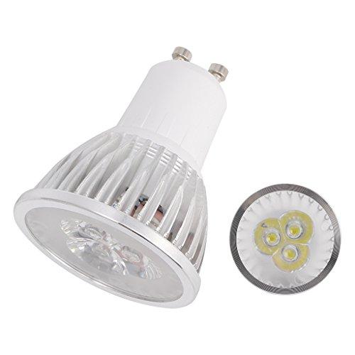 chenpaif Lampada 3W GU10 LED, Lampada 3W 3X1W GU10 LED Calda Lampadina Bianca Calda Faretto ad Alta Potenza 170V-240V