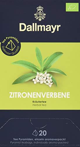 Dallmayr Teepyramide Zitronenverbene Bio, 1er Pack (1 x 44 g)