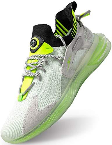 IYVW FL.28 Herren Laufschuhe Fitness stra?enlaufschuhe Sneaker Sportschuhe atmungsaktiv rutschfeste Mode Freizeitschuhe