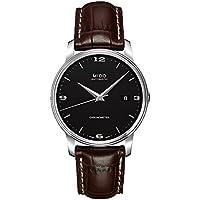 MIDO–Baron Botticelli–Reloj de Pulsera analógico automático para Hombre Acero Inoxidable m0104081605110