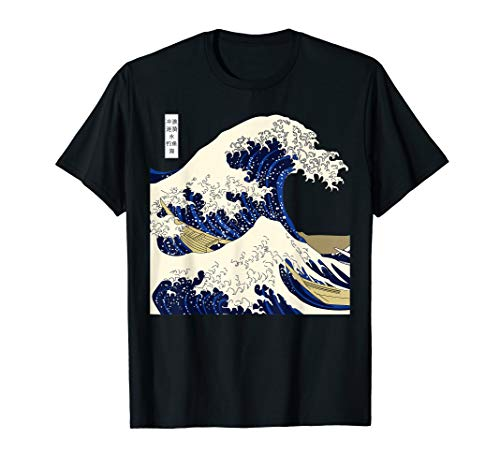 The Great Wave Kanagawa Japan T-Shirt T-Shirt
