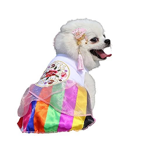 Dzwyc Vestido de Boda Falda Puppy Gatito Ropa Primavera Y Vestidos de...