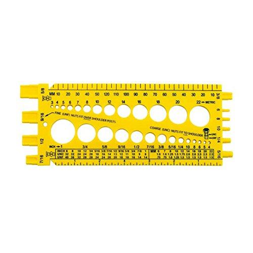 Messschablone / Messwerkzeug für alle Schrauben und Muttern
