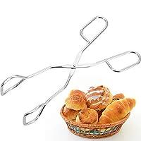 westmark pinza da cucina a forbice, pinza da barbecue, acciaio inox, lunghezza: 21,5 cm, argento, 12702270