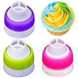 3 Packs 3 Color Icing Piping Bag Russian...