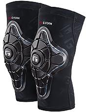 G-Form Pro-X Kniebeschermers - Zwart/Geel, X-Large