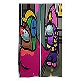 MMYFRYR Amo-Ng -Us Cortina de puerta- Cortinas opacas tipo barra de desgaste-aislantes del calor/cortinas de puerta para la decoración del consumidor y comercial.