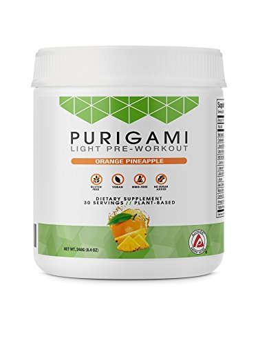 Purigami Natural Light Pre-Workout Powder