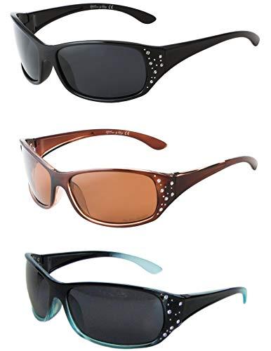 HZ Series Elettra - Gafas de sol polarizadas premium para mujer de Hornz