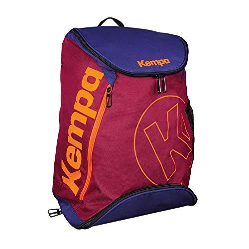 Kempa Backpack, mochila de deporte Unisex Adulto, rojo, NOSIZE