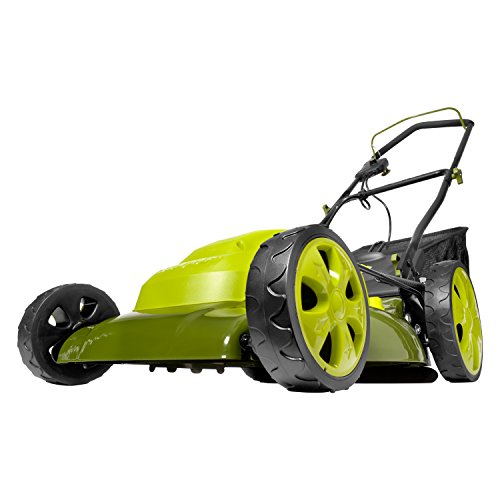 Sun Joe MJ408E-PRO 20-Inch 13.5-Amp Electric Lawn Mower + Mulcher, w/Side Discharge Chute