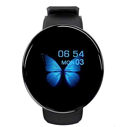 Smartwatch Orologio Fitness Tracker Uomo Donna, 1,3 Pollici Bluetooth Smart Watch Cardiofrequenzimetro da Polso Schermo Colori Orologio Sportivo Calorie Activity Tracker,per Android iOS(Nero)