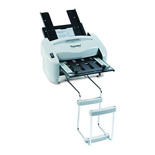 "Martin Yale P7200 Premier Rapid Fold Automatic Desktop Letter/Paper Folder, Automatically Feeds and Folds 8 1/2"" x 11"" Paper and a Stack of Documents, Includes Stacking Tray"