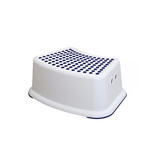 PanYFDD Taburete para niños para niños, baño, dormitorio, inodoro, sala de juguetes, cocina y sala de estar. baño para personas mayores discapacitados (color: azul)