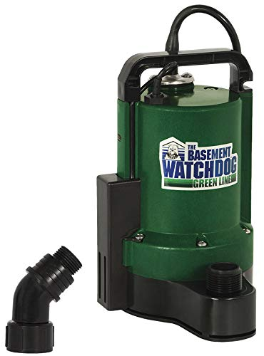 THE BASEMENT WATCHDOG Model BWU033PAS 1/3 HP 2,200 GPH at 0 ft. and 1,440 GPH at 10 ft. Submersible Utility Pump with Automatic Switch