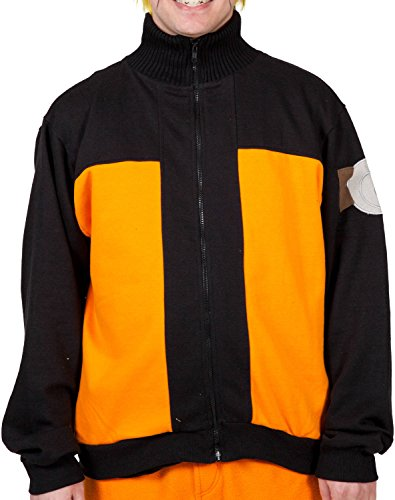 Naruto Shippuden Mens Track Jacket XL
